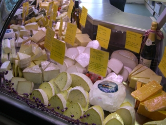 Occombe cheeses